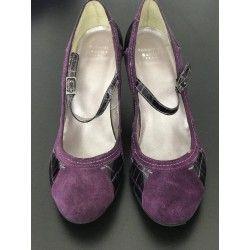 High Heel Roberto Santi in purple  - 1
