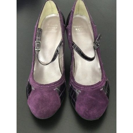 High Heel Roberto Santi in purple