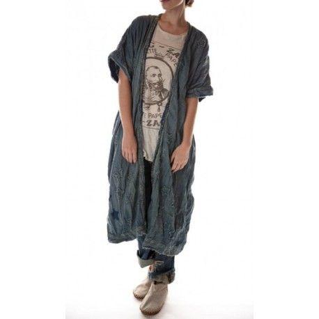 veste Dashi Kimono in Denim