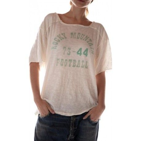 T-shirt Rocky Mountain Football in Moonlight