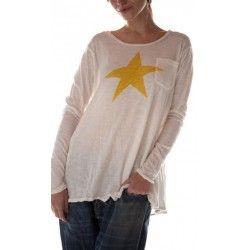 T-shirt Libra Dylan in Marigold