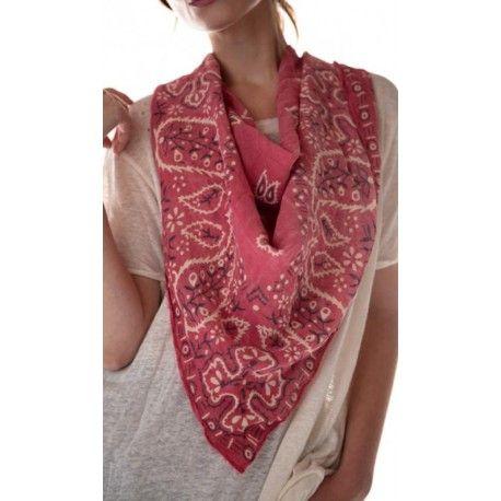 foulard Silas Paisley Bandana in Bastille