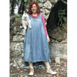 robe Love Layla in Washed Indigo