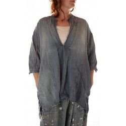 top Deeda in Washed Indigo