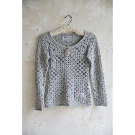 pullover Forever joy in Light grey cotton