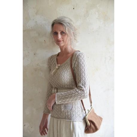 pullover Forever joy in Beige cotton