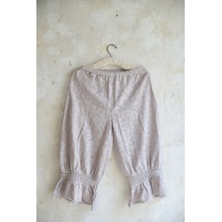 trousers Cosy romance in Light grey Lace