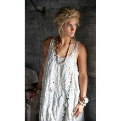robe Coronado Slip in Antique White