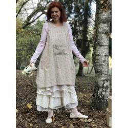 dress apron MAEVA floral poplin
