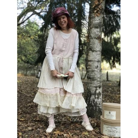 robe NOEMIE lin rose