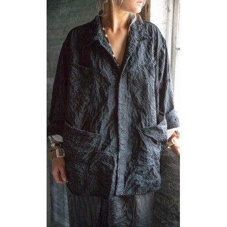 jacket Aelvoet in Pinstripe