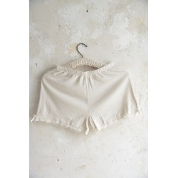 shorts Joyful moods in Cream cotton