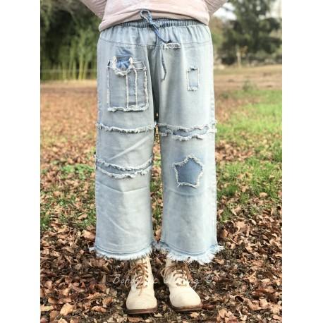 pantalon Joyous mood en denim