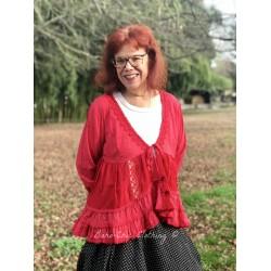 veste SHIRLEY rouge