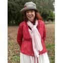 scarf STARK red