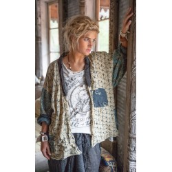jacket Beatrix Short Kimono in Tonga