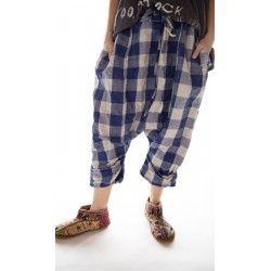 pantalon Samantha Drawstring in Soul Check