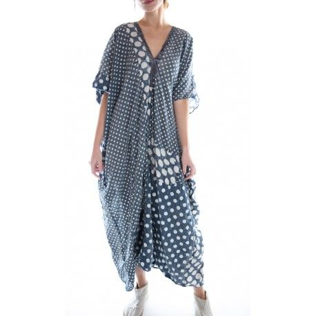 robe Veda Kaftan in Tenshi Dot