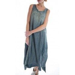 dress Love Layla in Washed Indigo