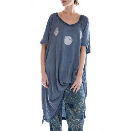 dress Moon Beau in Faded Boro