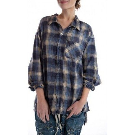 chemise Adison Workshirt in Camp