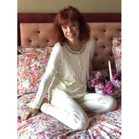 pyjama AUBELINE ivoire