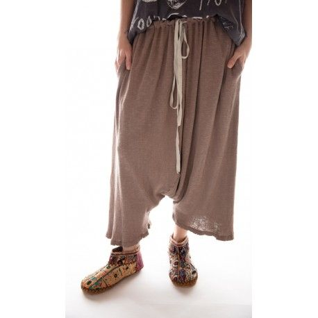 pantalon Frankie in Clay Magnolia Pearl - 1