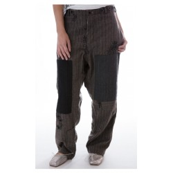 pants Devereux grey striped