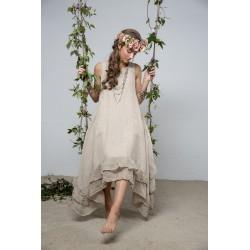 spencer dress Delight joy in Natural Linen