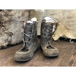 boots Jack Lace Up in Weathered