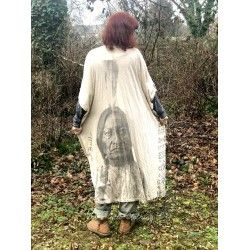 robe Sitting Bull Veda Kaftan in Molly