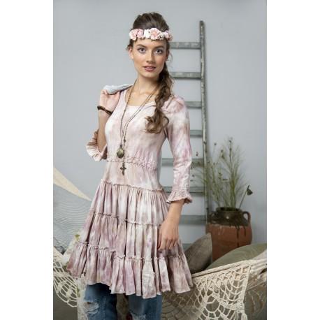 robe Charming spirit en vieux rose