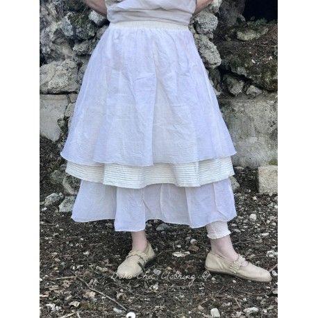 skirt / petticoat CELESTE in ecru organza