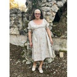 dress MILENE in floral poplin