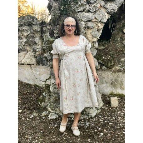 robe MILENE popeline fleurs