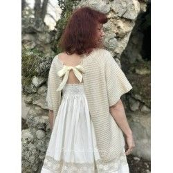 pullover NINON in natural woolen