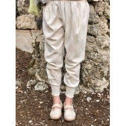 panty FANFAN coton carreaux vert