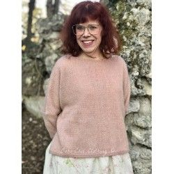 pullover JACOB in pink woolen