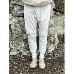 panty FANFAN in ecru cotton