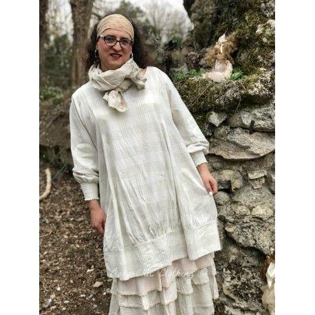robe ALEXANDRE coton carreaux vert