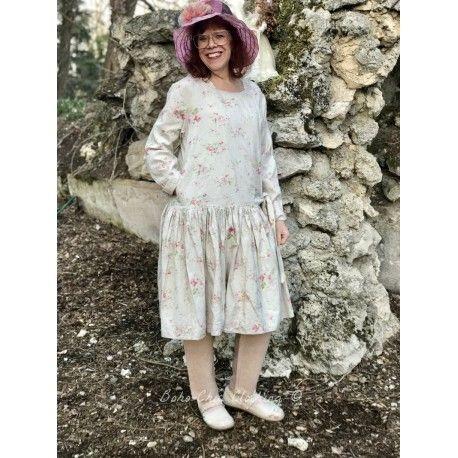 robe MINA coton fleurs