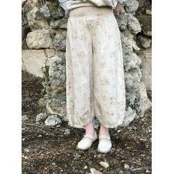 pantalon GUS popeline fleurs