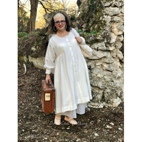 robe NOA coton écru