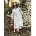 dress NOA in ecru cotton