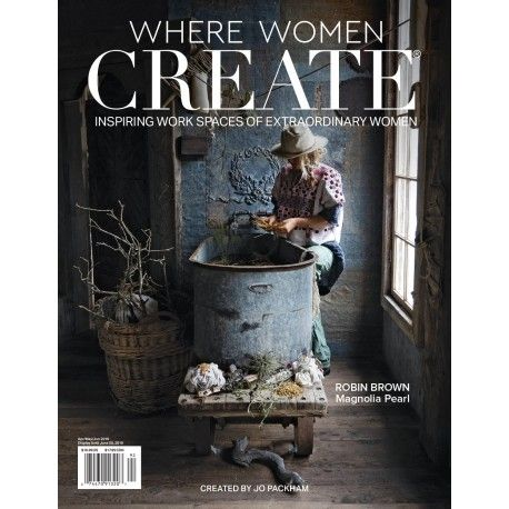 revue Where Women Create Magazine – Robin Brown Edition