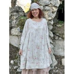 robe ALEXANDRE coton fleurs