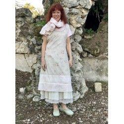robe-tablier LOUANE coton fleurs