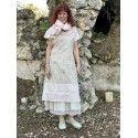 dress-apron LOUANE in floral cotton