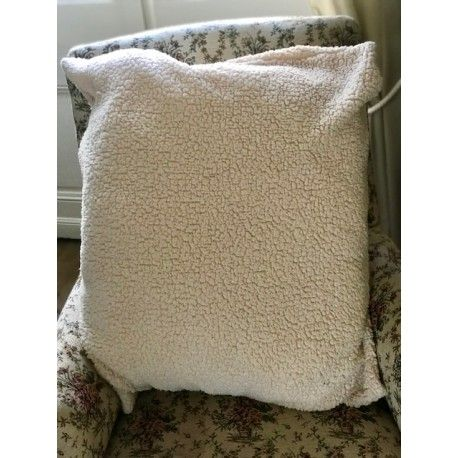 cushion cover in Moumoutte fabric Les Ours