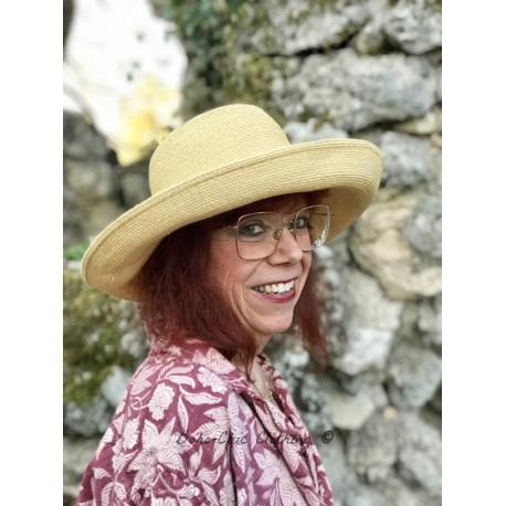 hat ISABELLA in straw hemp